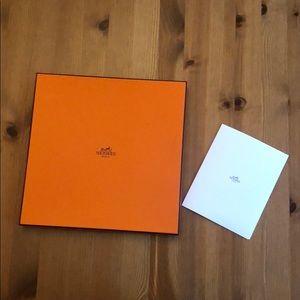 Hermès Pocket Square Box
